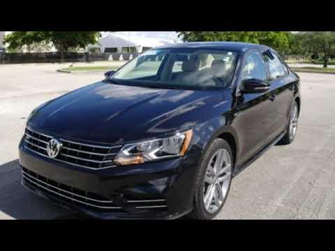 Certified 2018 Volkswagen Passat Miami FL Ft-Lauderdale, FL #72805
