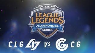 Video CLG vs. CG - Week 6 Day 1 | NA LCS Spring Split | Counter Logic Gaming vs. Clutch Gaming (2018) download MP3, 3GP, MP4, WEBM, AVI, FLV Juni 2018
