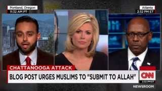 CNN: Ahmadiyya Muslim Community spokesperson Harris Zafar responds to Chattanooga Shooting