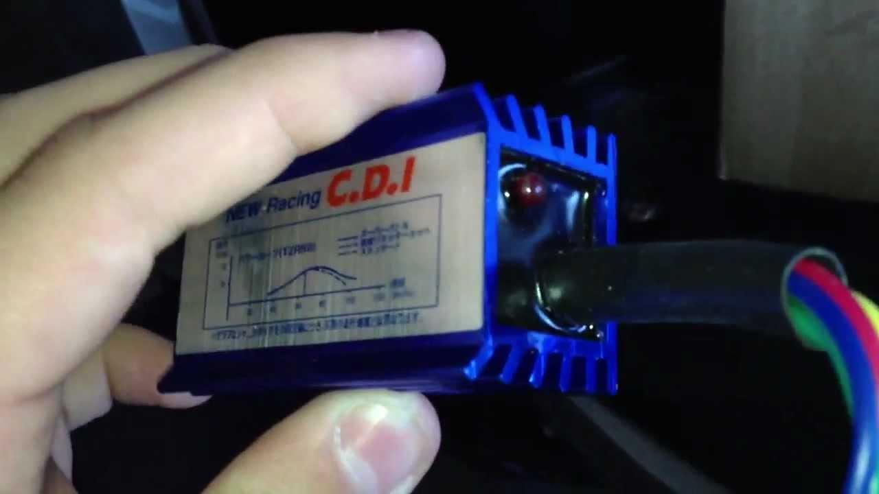 medium resolution of x15 pocket bike cdi installation