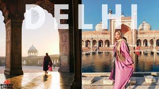 MUST NOT Miss In Delhi ! - HOLY Delhi Ki Jama Masjid 🇮🇳