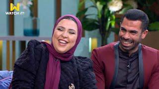 اختبار مفاجئ لزوجة أحمد فتحي.. يعني ايه اوفسايد؟.. والاجابة مفيش ابسط من كده 😄⚽
