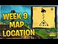 Follow the treasure map found in Moisty Mire LOCATION // FORTNITE BATTLE ROYALE // WEEK 9 CHALLENGES