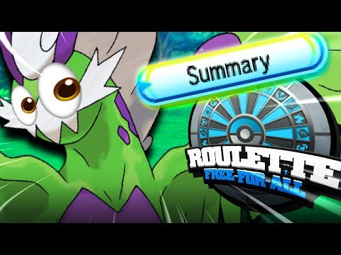 I CAN SEE HIS SETS... (POKEMON USUM ROULETTE 4.0 FFA)