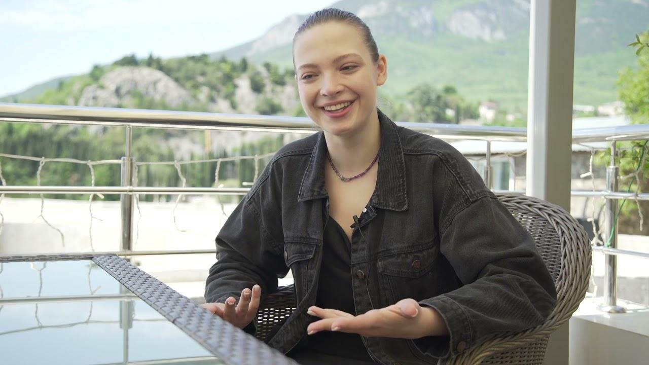 Интервью в Артеке: Дарья Антонюк