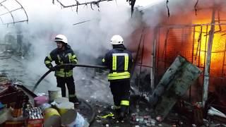 Большой пожар на Анголенко