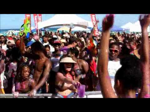 Emancipation Jouvert At Bermuda BeachFest, Aug 2 2012