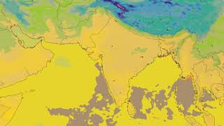 Southern Asia Surface Temperature Weather Forecast HD: 18 Nov 2019 [Updated at 0000 hours UTC]
