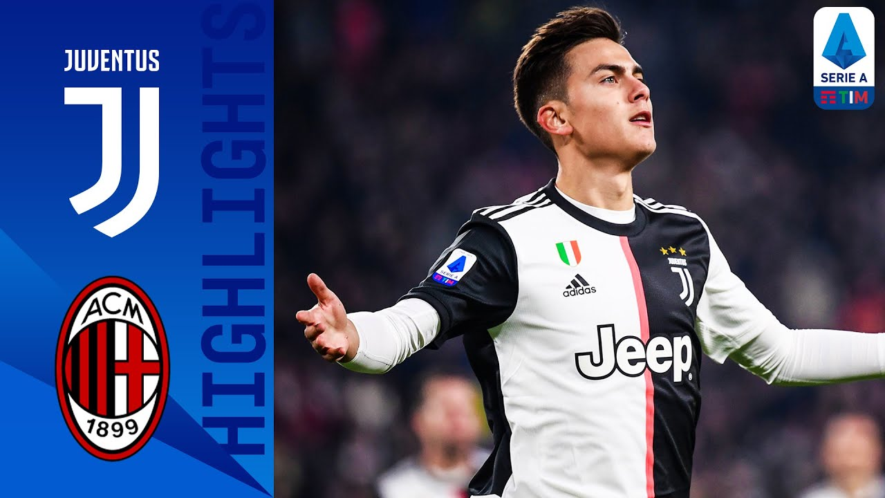 Juventus 1 0 Milan Paulo Dybala Scores After Cr7 S Substitution Serie A Youtube