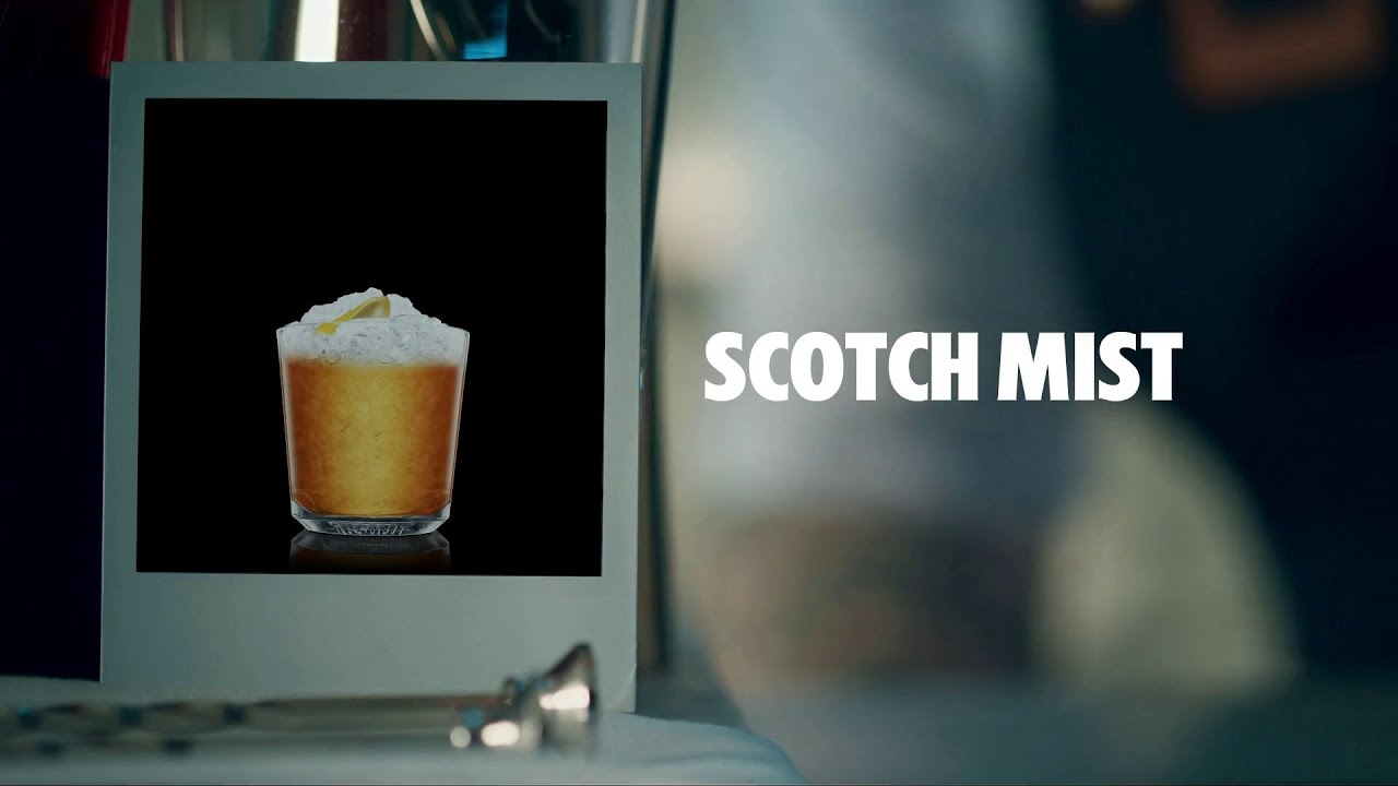 Scotch Mist Drink Recipe