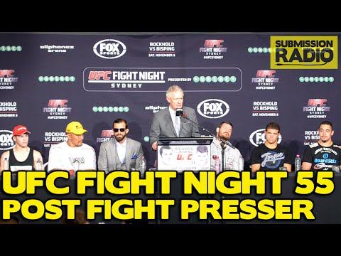 UFC Fight Night: Rockhold vs. Bisping Post Fight Press Conference