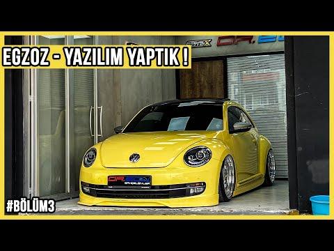 Volkswagen Beetle Modifiye Yapım Aşaması Bölüm3 (EGZOZ - YAZILIM YAPTIK) | ÜNAL TURAN