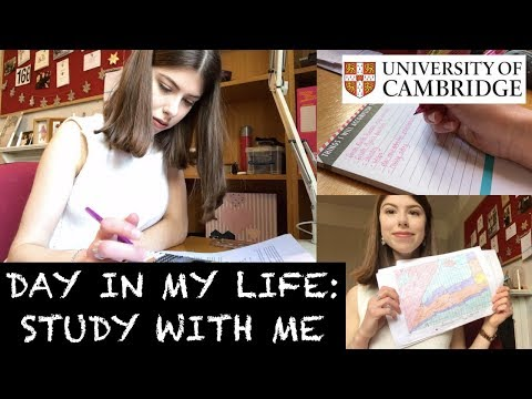 DAY IN MY LIFE: STUDY WITH ME AT CAMBRIDGE UNI