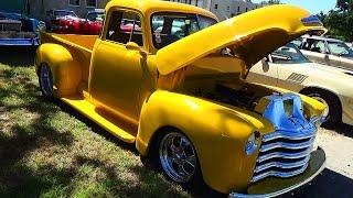 1953 Chevy Five Window Street Truck Cruisin The Coast 2014