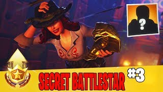 Secret Week 3 Battle Star Location Guide in Fortnite // FREE Battle Pass Tier in Season 8