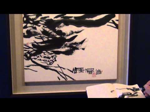 A Sumi-sketch tour to SDMA Pan Gongkai New Chinese Painting Exhibition with Henry Li