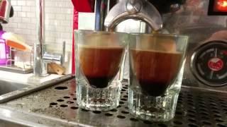 La Pavoni PUB S double espresso