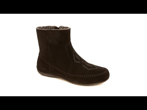 491c12b98b1 Sporto Joy WaterResistant Embroidered Suede Bootie - YouTube