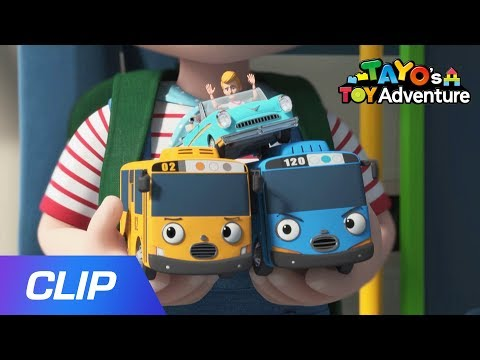 Tayo Mission Ace 2 CLIP#1 L Tayo's Toy Adventure L Tayo The Little Bus