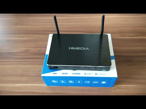 HiMedia H8 Plus Octa-core Android TV Box Unboxing