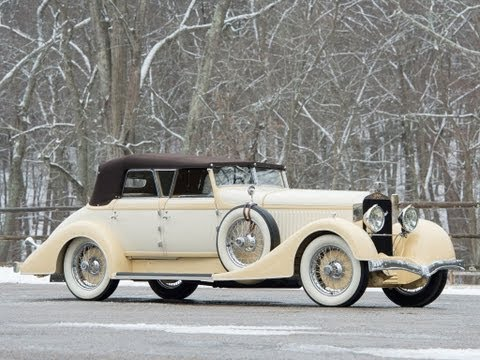 1928 Hispano Suiza H6C Transformable Torpedo by Hibbard & Darrin