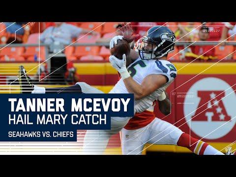 Trevone Boykin's Last Second Hail Mary to Tanner McEvoy! (Preseason) | Seahawks vs. Chiefs | NFL