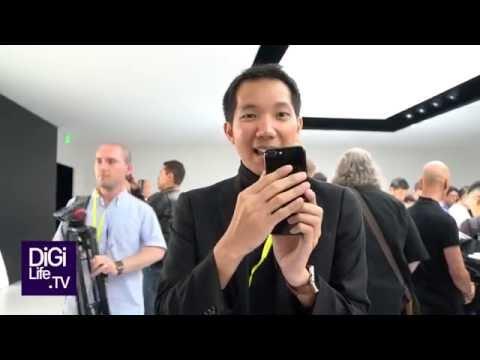 จับเครื่องจริง iPhone 7! สดจากงานเปิดตัว