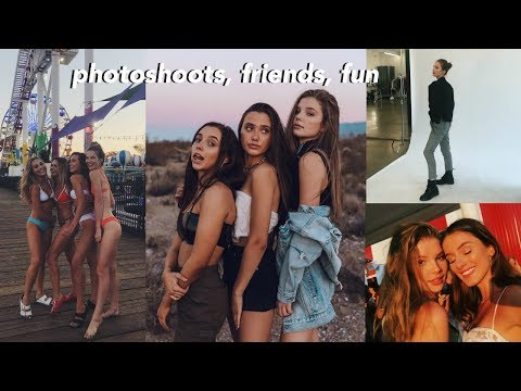 LA week in my life | Disney, Teen Choice Awards + Photoshoots
