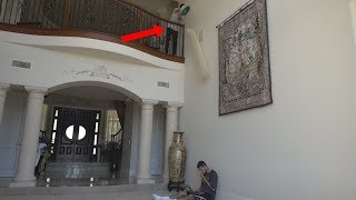 MY FIRST PRANK IN THE NEW HOUSE!! | FaZe Rug
