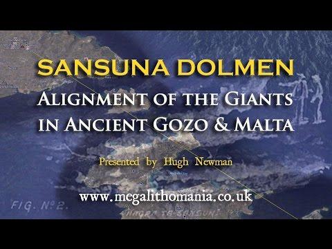 Sansuna Dolmen: Alignment of the Giants in Ancient Gozo & Malta