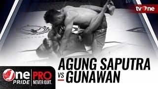 Video [HD] One Pride MMA: Agung Saputra VS Gunawan - FULL FIGHT download MP3, 3GP, MP4, WEBM, AVI, FLV Juni 2018