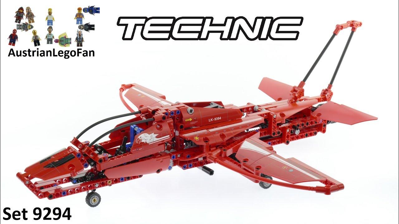 lego technic 9394 jet plane lego speed build review. Black Bedroom Furniture Sets. Home Design Ideas