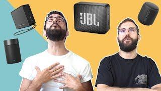 JBL GO 2 vs SONY SRS XB-10 - Comparativa Mini Altavoces Bluetooth 2018
