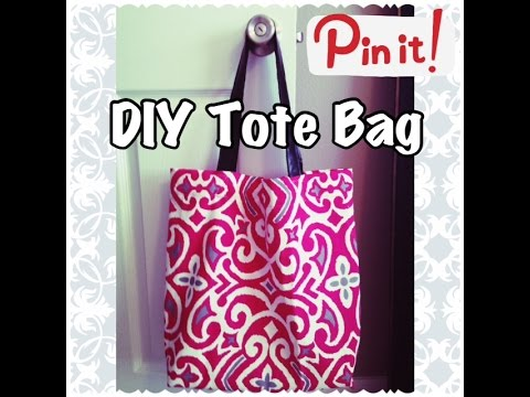 DIY Tote Bag   Sewing Project for Beginners
