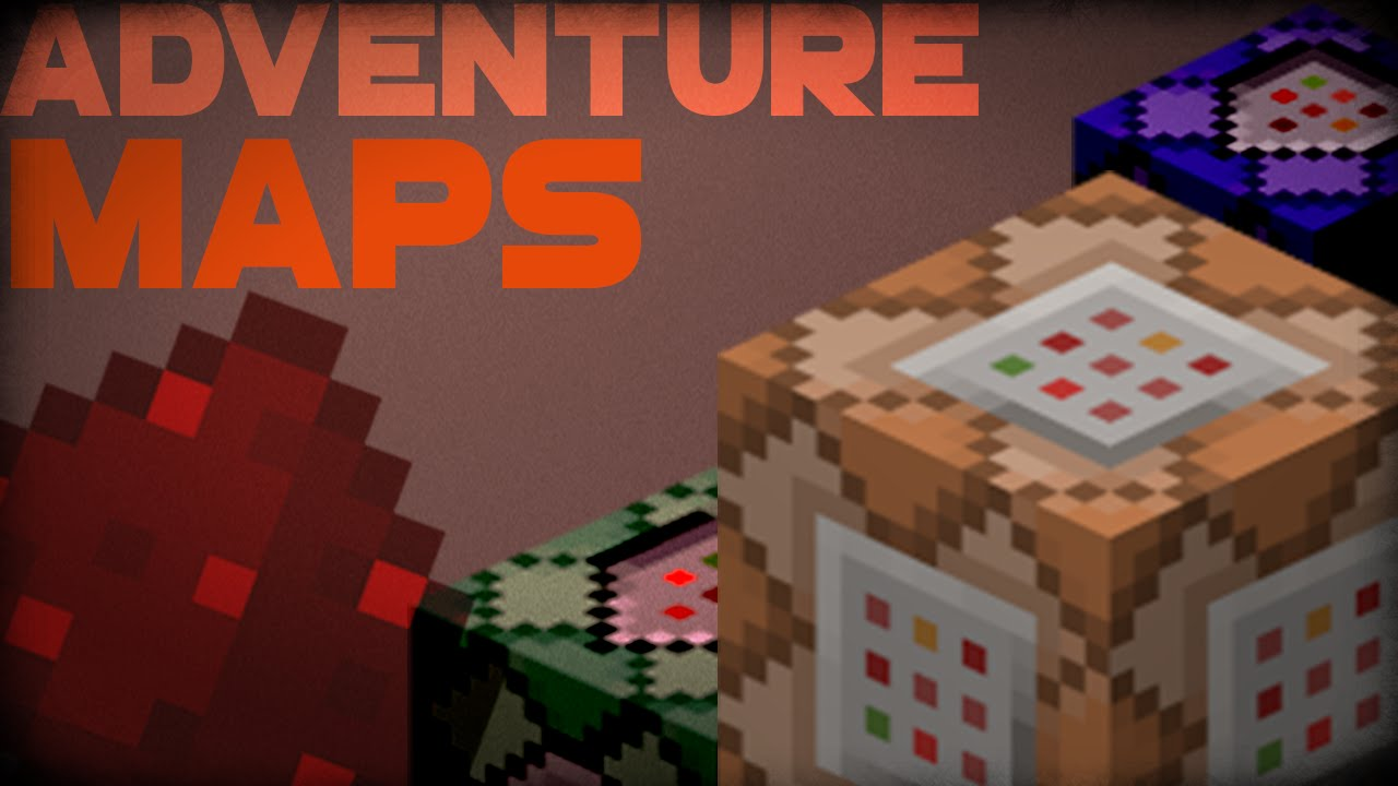 How To Make A Minecraft Adventure Map With Command Blocks YouTube - Tipps fur minecraft adventure maps