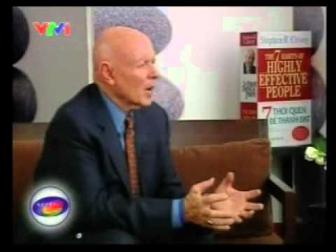 """NDT - Stephen Covey - Tác giả cuốn sách """"7 thói quen của người thành đạt"""""""