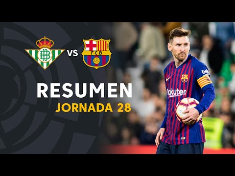 Resumen de Real Betis vs FC Barcelona (1-4)