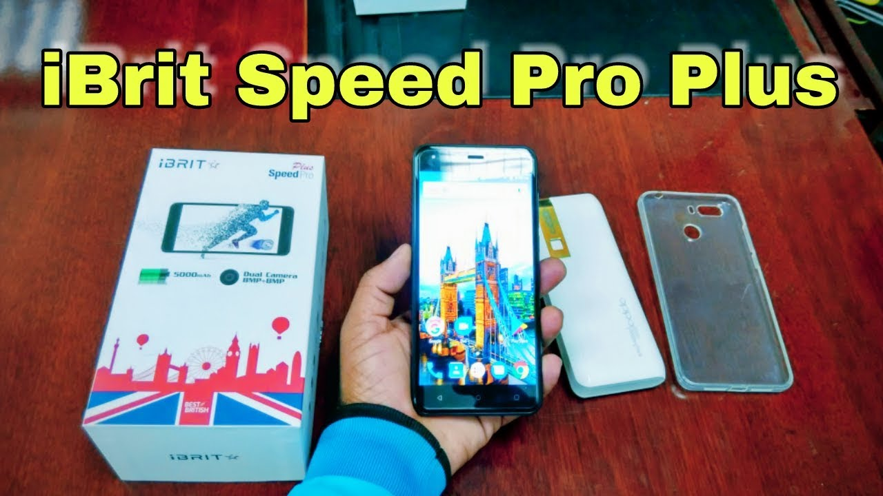 iBRIT Speed Pro Plus Unboxing & Hands On Review
