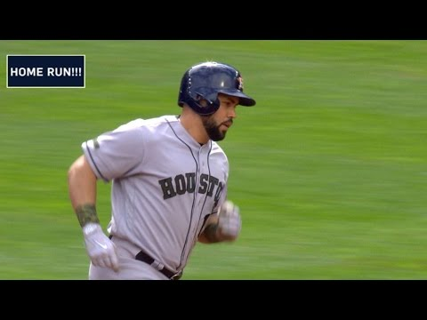 HOU@MIN: Beltran smacks a three-run homer to right