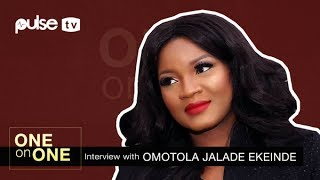 'Alter Ego': Omotola Jalade Talks Behind the Scenes, Chemistry with Wale Ojo | One on One | Pulse TV
