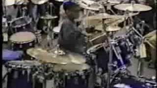 Tony Royster Jr. @ 1995 Guitar Center Drum-Off 11 years old