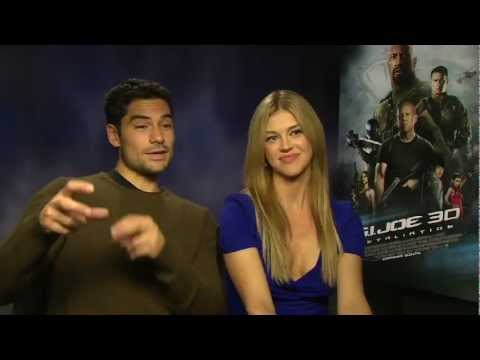 Adrianne Palicki & D.J. Cotrona Interview - G.I. Joe: Retaliation