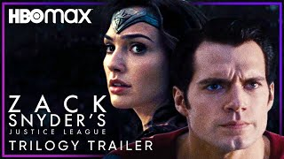 Zack Snyder's Justice League | Trilogy Trailer | HBO Max