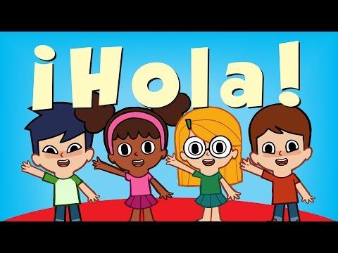 ¡Hola! | Canciones Infantiles | Super Simple Español
