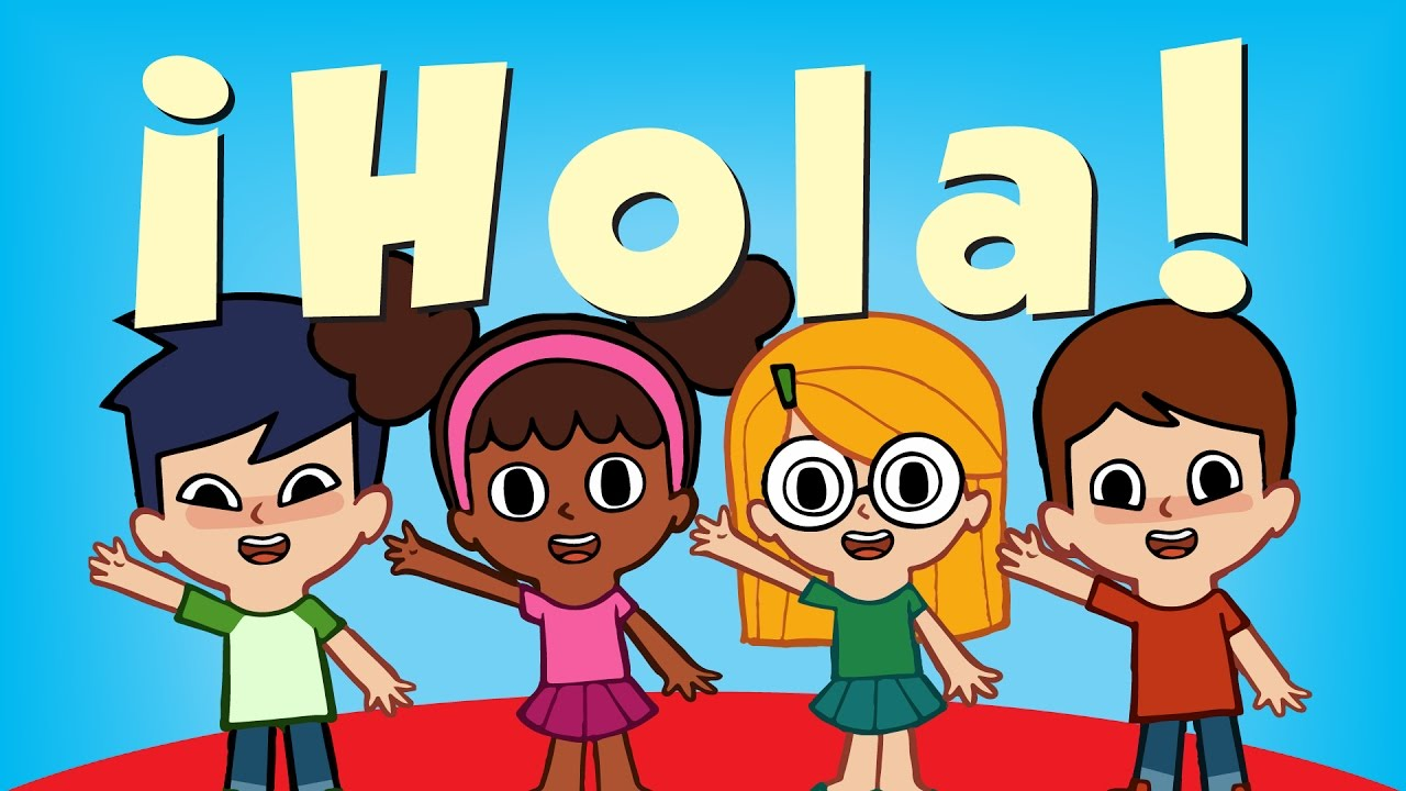 Hola canciones infantiles super simple espa ol youtube for Cancion infantil hola jardin