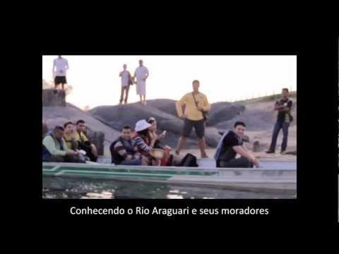 Rio Araguari Porto grande.