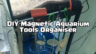 Diy Aquarium Magnetic Tools Hanger Organiser