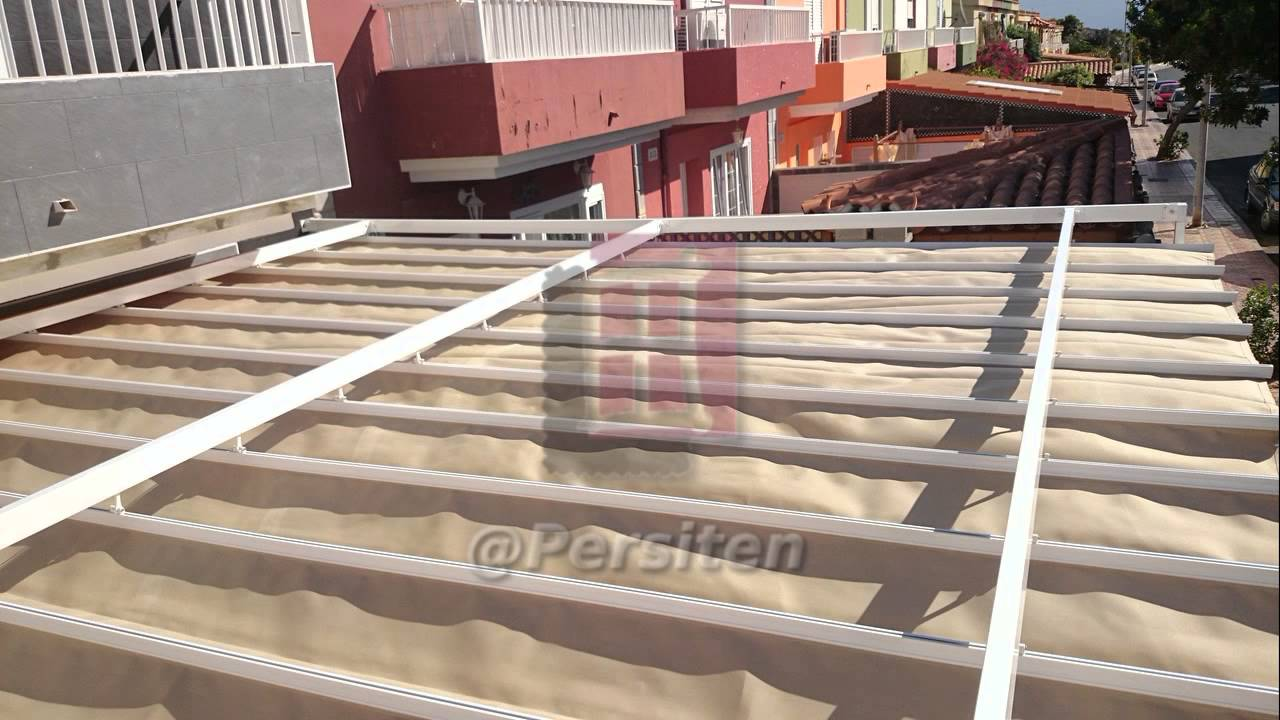 Persit n toldo palillero para cubrir una terraza completa - Como cubrir una terraza ...