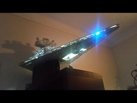 Starwars / Imperial Star Destroyer - homemade - in progress (not Randy Cooper or a lego one)