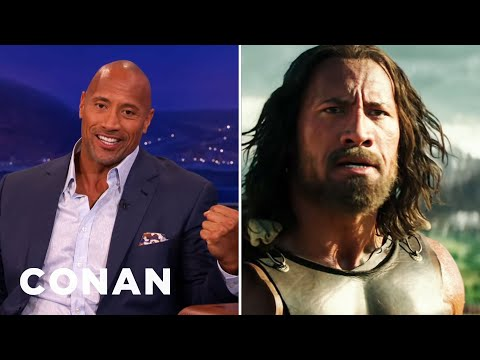 Dwayne Johnson Blacked Out Filming